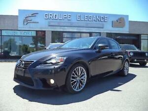 2014 Lexus IS 250-CUIR-TOIT-CAMERA RECULE