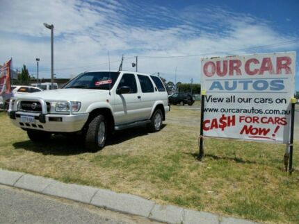 2004 Nissan Pathfinder ST V6 White 4 Speed Automatic Wagon Maddington Gosnells Area Preview