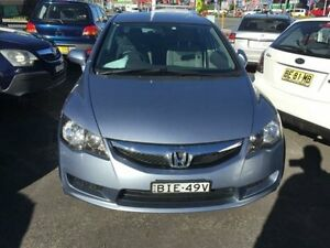 2008 Honda Civic MY07 VTi-L Grey 5 Speed Automatic Sedan Cardiff Lake Macquarie Area Preview