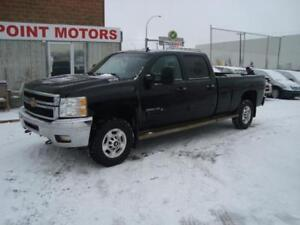 2011 Chevrolet Silverado 2500HD CREWCAB 4X4 LT LONGBOX