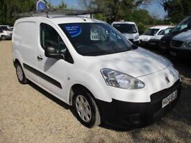 2014 Peugeot Partner 1.6HDi 3 SEATER NO VAT 90000 MILES GUARANTEED