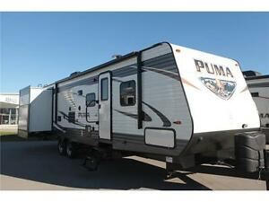 New 2016 Palomino Puma 31 DBTS Travel Trailer