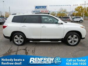 2012 Toyota Highlander 4WD Limited **Flash Sale** Sunroof, JBL A