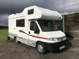 2001 Autocruise Stargazer Motorhome with Large Overcab Bed