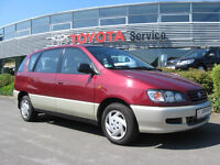 wanted toyota picnic petrol models any year or condition and Nissan almera 5 door upto 1999 models