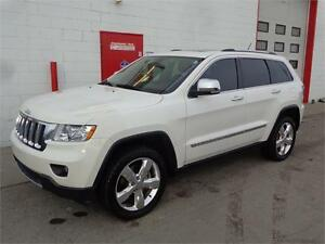 2012 Jeep Grand Cherokee Overland ~ 94,000kms ~ $27,999