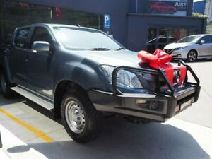 2015 Isuzu D-MAX MY15 SX 4x2 High Ride Grey 5 Speed Sports Automatic Cab Chassis Brookvale Manly Area Preview