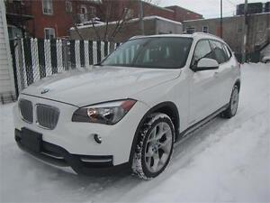 2013 BMW X1 2.O LITTER AWD / FINANCEMENT MAISON $76 SEMAINE