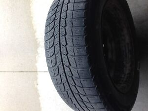 Set of Four Michelin X-Ice Winter Tires with Rims (16 inch)