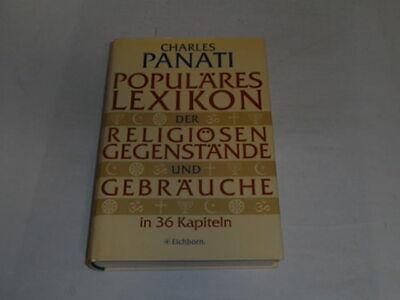 uläres Lexikon der religiösen Gegenstände und Gebräuche (Religiöse Gegenstände)
