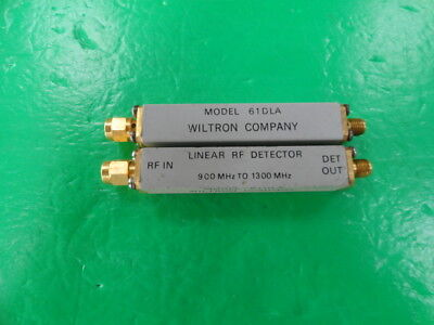 1pc WILTRON 61DLA 900-1300MHz RF Microwave Coaxial Detector