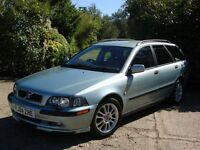 2004 04 VOLVO V40 SPORT ESTATE AUTOMATIC DOCUMENTED SERVICE HISTORY-MOT-WELL MAINTAINED