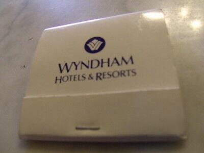 Vintage   Unstruck Wyndham Hotels   Resorts Matchbook