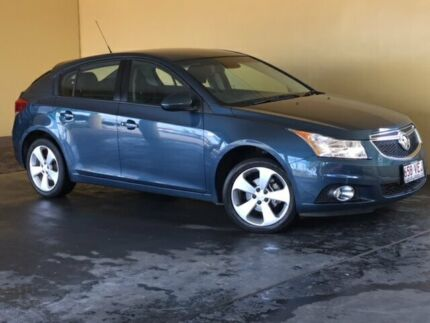 2014 Holden Cruze JH MY14 Equipe Blue 5 Speed Manual Hatchback South Toowoomba Toowoomba City Preview