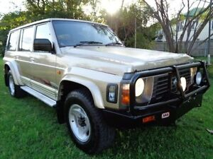 1996 Nissan Patrol GQ II ST Gold 5 Speed Manual Wagon Chermside Brisbane North East Preview