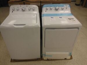 BRAND NEW GE TOP LOAD WASHER AND DRYER SET!!!