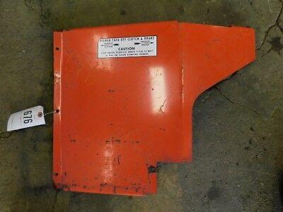 Allis-chalmers 220 Rh Rear Engine Panel Tag 676