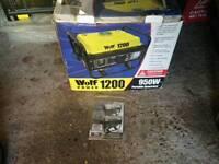 Wolf 1200 950w power generator