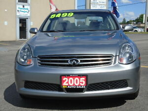 2005 INFINITI G35 X ALL WHEEL DRIVE E-TESTED & CERTIFIED