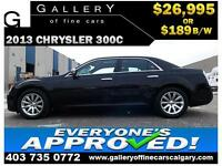 2013 Chrysler 300C $189 bi-weekly APPLY TODAY DRIVE TODAY