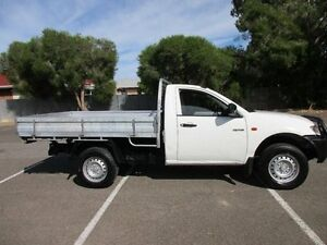 2009 Mitsubishi Triton ML MY09 GLX (4x4) 5 Speed Manual 4x4 Cab Chassis Greenacres Port Adelaide Area Preview