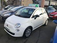 FIAT 500 1.2 POP 3d 69 BHP (white) 2009