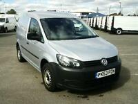 Volkswagen Caddy 1.6TDI 102PS VAN DIESEL MANUAL SILVER (2013)