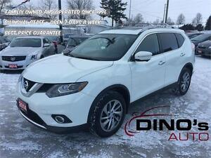 2014 Nissan Rogue SL | $99 Weekly *OAC $0 Dn / Backup Cam / Nav