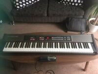 Roland RD-170 Digital Piano, inc. pedal, music stand and manuel