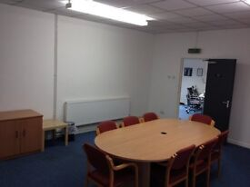 Convenient and Local Working Space, hire by the hour or by the day. Refreshments can be arranged