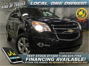 2011 Chevrolet Equinox 2LT PST PAID!