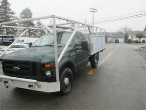 FORD F-250 SD  BOITE PLATE FORME 2008 FINANCEMENT MAISON