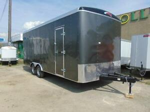2016 Mirage 8.5 X 20 Tandem Axle Cargo Trailer w. Ramp