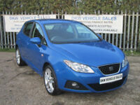 SEAT IBIZA 1.2 TSI SPORTRIDER 5DR 2012 (61) ONLY 47K FSH 5 X STAMPS / LOVELY CAR