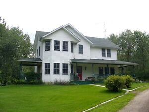 Country Home on 2.4 acres at Bonnyville Beach, Moose Lake, AB