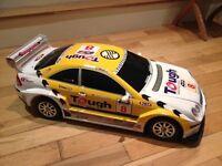 Large Rally Racing Car