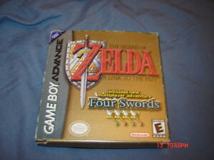 LEGEND OF ZELDA FOUR SWORDS NINTENDO gameboy advance COMPLET