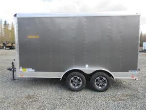 """7' x 14' enclosed with ramp door, extra height & 4"""" lift"""