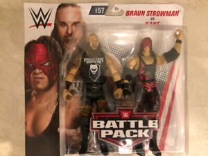WWE Action Figures: Kane and Braun Strowman Brand New