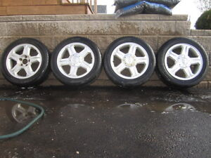 16 Inch Cooper All Season Tires and Alloy Rims