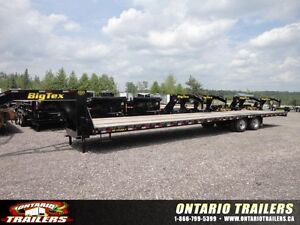 (NEW) BIG TEX 22GN HD 40 FT STRAIGHT DECK  23500 LB