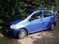 DAIHATSU CHARADE 2004 HATCHBACK - 5 DOOR - £30 ANNUAL ROAD TAX - DAILY USE BUT SOME WORK REQUIRED.