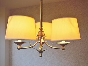 Brushed Nickel 3-Light Chandelier