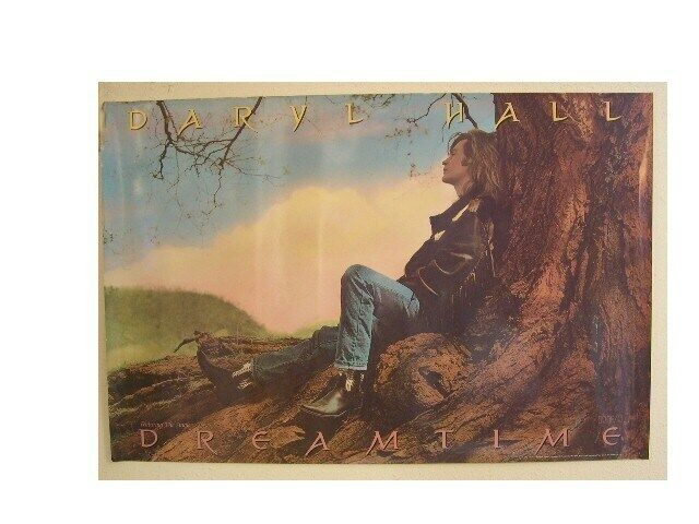 Daryl Hall Poster Dreamtime OF And Oates & John Old