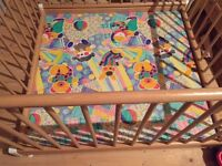 Children's play pen from Harrods- fine quality, new , cost £299
