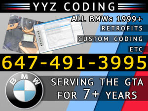 BMW Coding/Programming/Maps 1/2/3/4/5/6/7/X/Z Series. 7 yrs EXP!