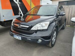 2008 Honda CR-V RE MY2007 Sport 4WD Black 5 Speed Automatic Wagon Dandenong Greater Dandenong Preview
