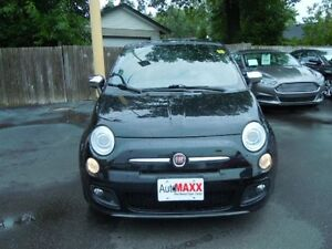 2012 FIAT 500 SPORT - LEATHER HEATED SEATS, SUNROOF, CRUISE, ALL