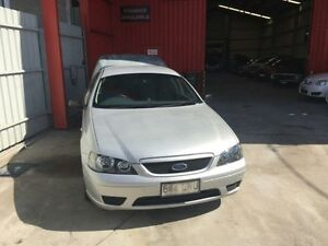 2006 Ford Falcon BF XL Silver 4 Speed Automatic 2d Cab Chassis Clontarf Redcliffe Area Preview