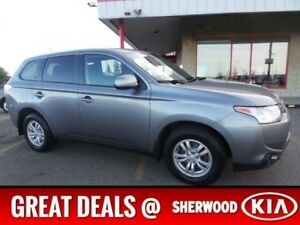 2014 Mitsubishi Outlander ES Heated Seats,  Bluetooth,  A/C,  He